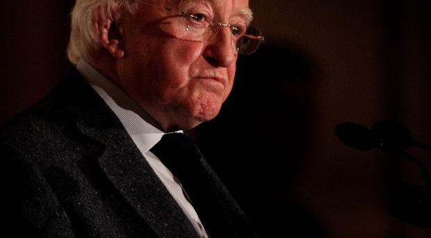 President Michael D Higgins praised Inez McCormack's ability to question the status quo