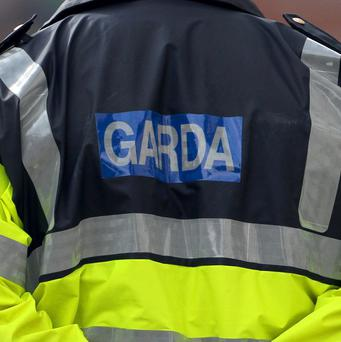 Gardai are involved in the search for a man whose car plunged into the sea
