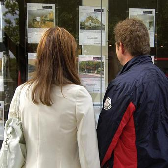 The property market dipped again last month
