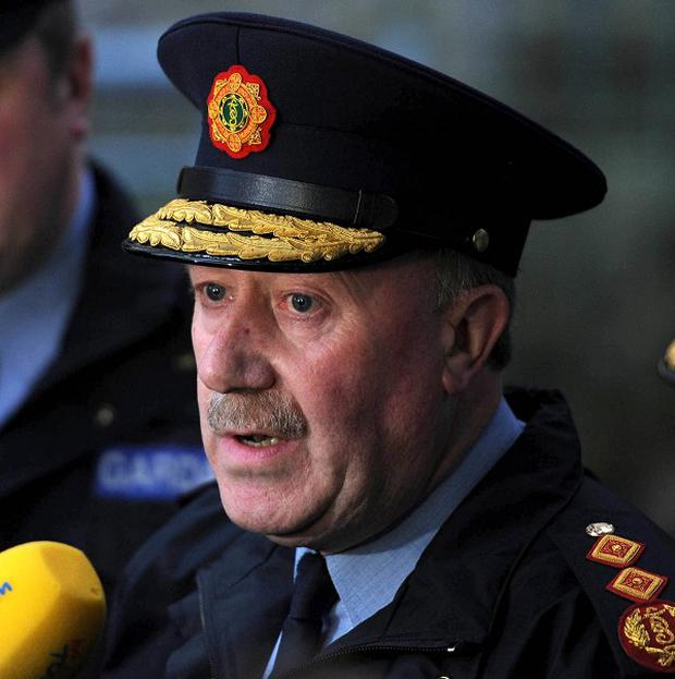 Garda commissioner Martin Callinan said the force was not alone in facing decreasing budgets