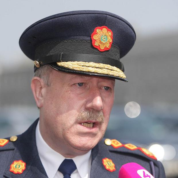 Four sergeants walked out of a conference just before Garda Commissioner Martin Callinan was about to give a speech
