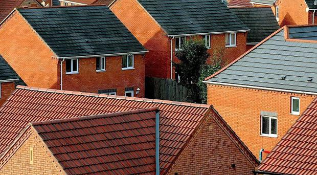 Second hand homes have become almost 10 per cent more expensive over the last year, new figures show