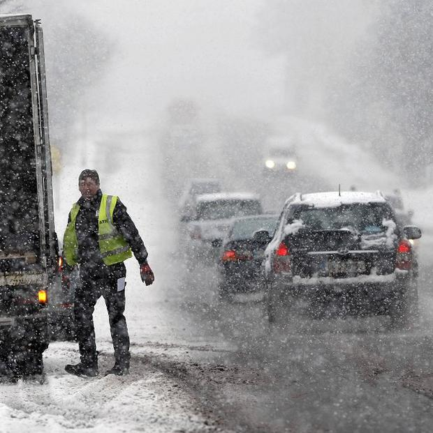 Met Eireann said unseasonable icy conditions, heavy rain and gales made it the coldest March in decades