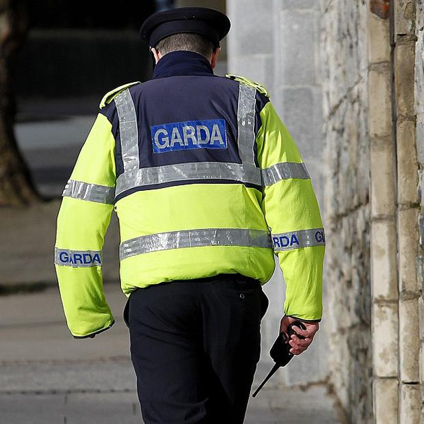 Garda seized drugs and a sawn-off shotgun during the operation in Tallaght