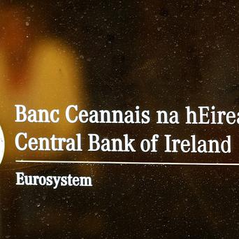 The Central Bank said that the gradual recovery of the Irish economy is continuing
