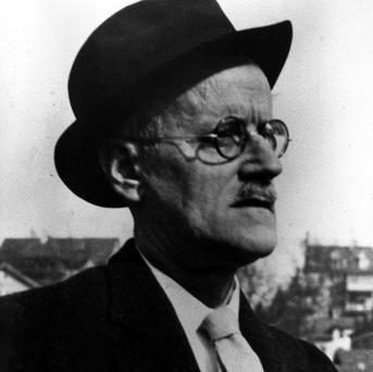 Author James Joyce