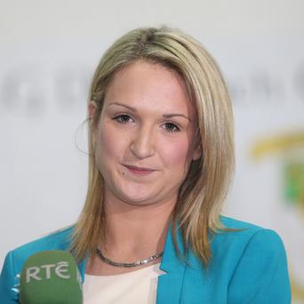 Helen McEntee won the Meath East seat formerly held by her father Shane