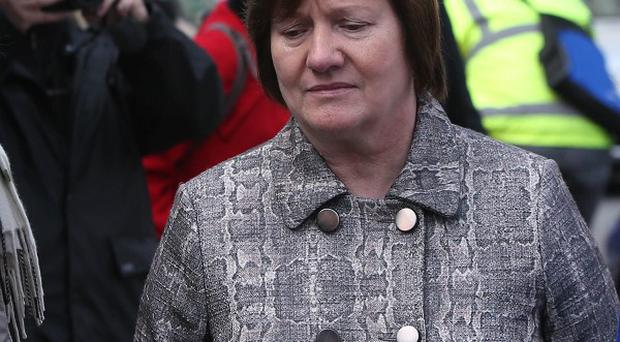 Midwife Ann Maria Burke is one of two people who have been recalled as witnesses over discrepancies in their evidence