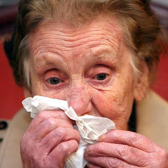 Columba McVeigh's mother Vera died six years ago, before his body could be found