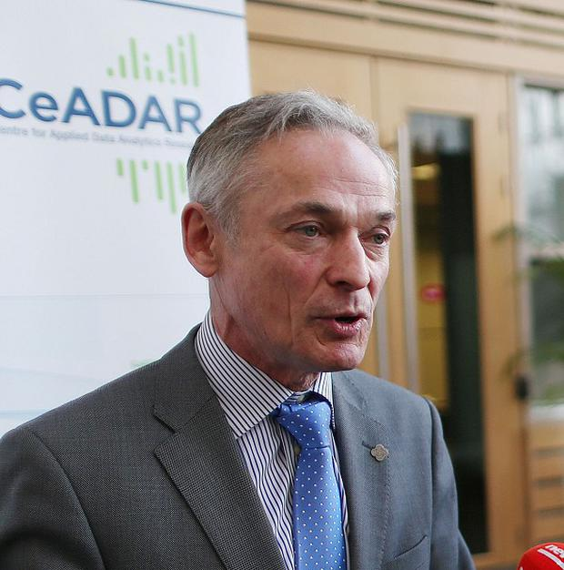 Jobs Minister Richard Bruton said tech sector growth will 'help get Ireland back to work'