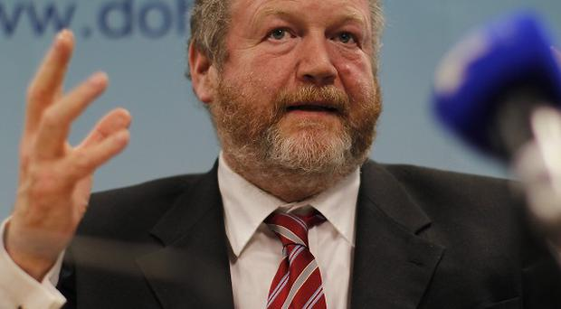 Progress on new abortion laws will be reported to the Cabinet by James Reilly