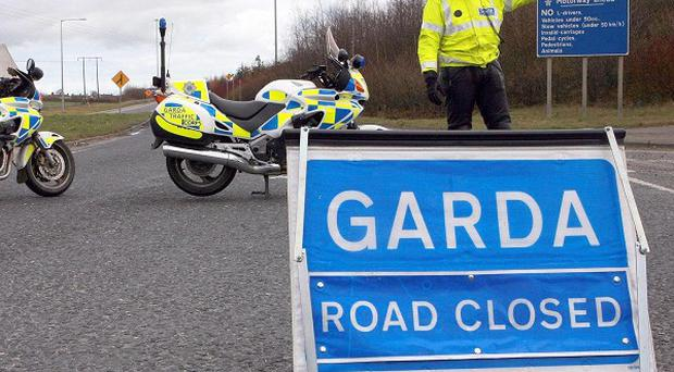 A passanger in a van has died after a crash in Swords