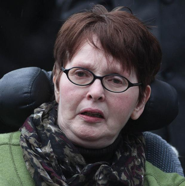 Marie Fleming took her appeal to the Supreme Court after losing a legal challenge at the High Court