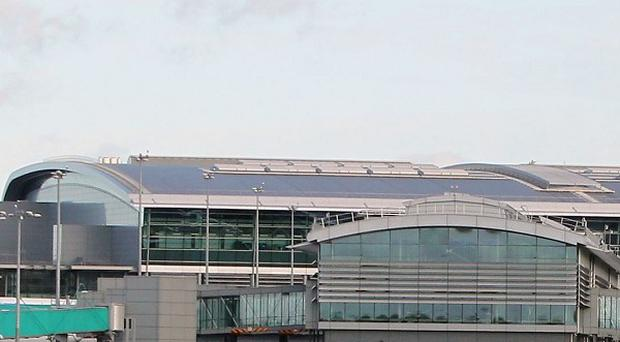 The threat sparked a major security alert and airport police carried out a sweep of the area at Dublin Airport.