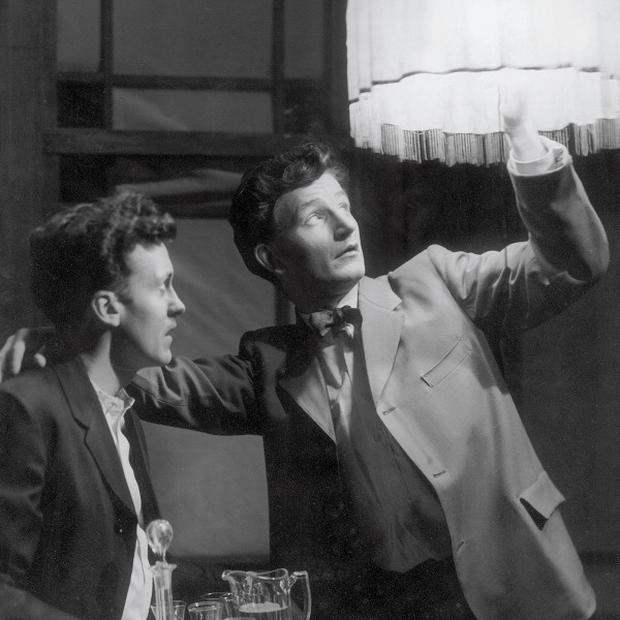Vincent Dowling (left) and TP McKenna (right) in Long Day's Journey into Night