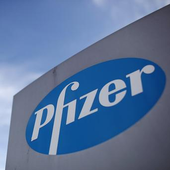 Pfizer employs about 3,200 people at six sites in Ireland
