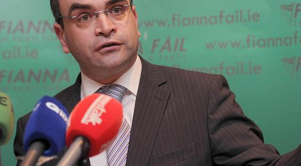 Fianna Fail Justice's Dara Calleary said the government is 'sleepwalking' through claims the government is a tax haven for multinationals