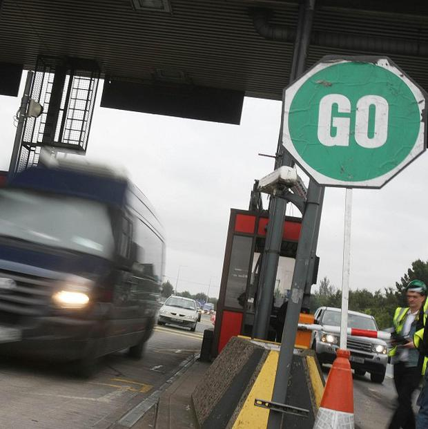 Dublin's Port Tunnel: No injuries have been reported from this morning's accident (File pic)