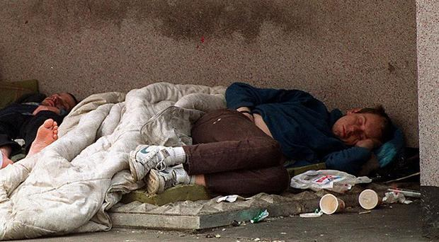 There are an estimated 5,000 people who are currently homeless in the Republic