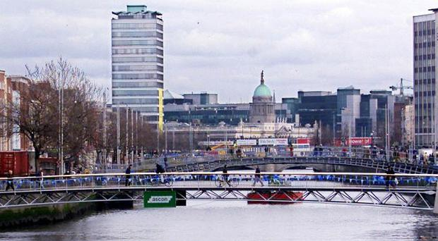 The search for a name for Dublin's newest bridge over the Liffey has been narrowed to 10