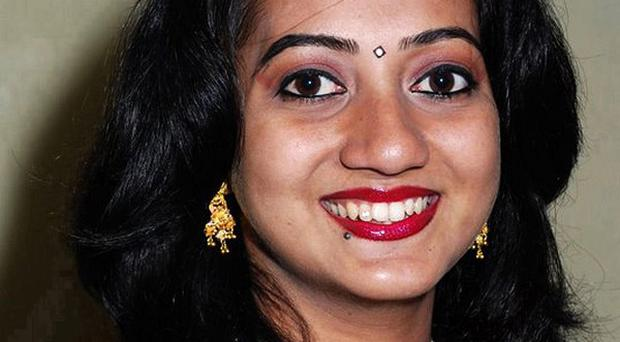Savita Halappanavar died after she suffered a miscarriage in an Irish hospital (The Irish Times/PA)
