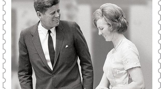 An Post has issued two new stamps marking the 50th anniversary of John F Kennedy's historic visit to Ireland
