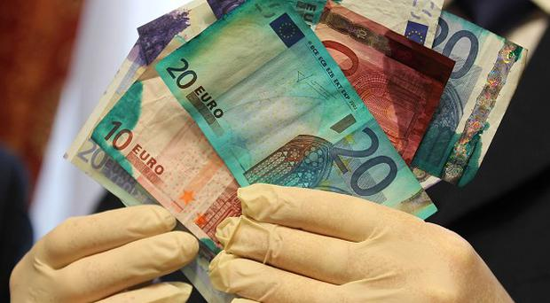 Up to two million euro taken in raids in recent years could be in circulation