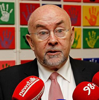 Education Minister Ruairi Quinn has reversed his decision to cut resource teaching hours to pupils with special needs