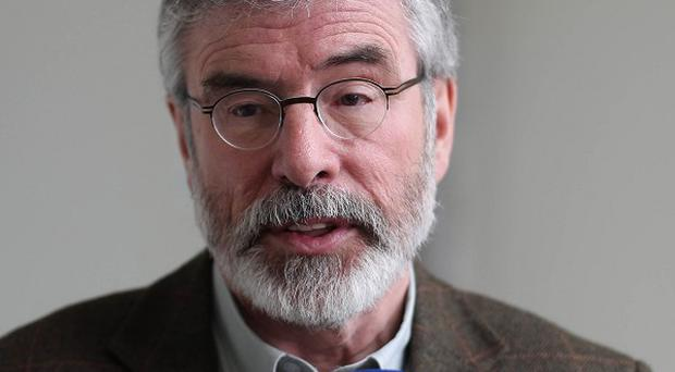 Gerry Adams said he was astounded that Michael Noonan was unaware of recorded conversations between former Anglo Irish executives