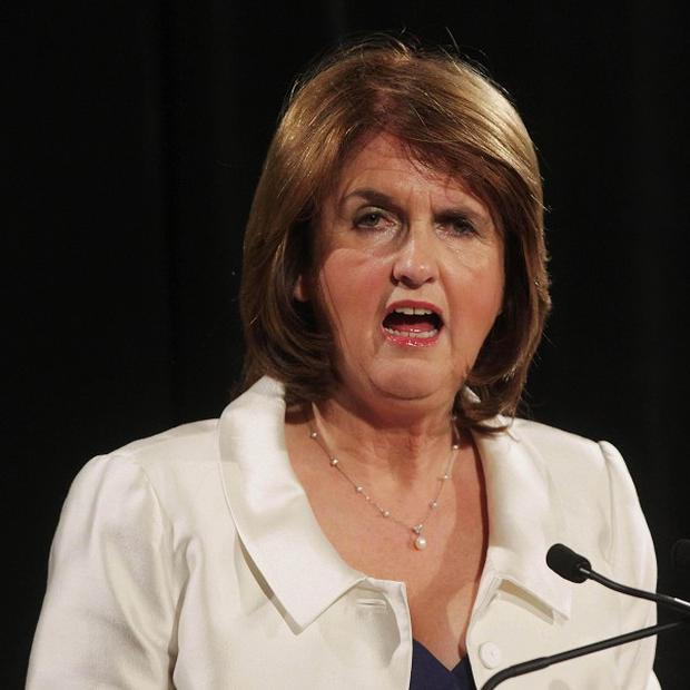 Labour Party minister Joan Burton said leaked details of phone calls have 'really reignited people's absolute sense of frustration and anger'