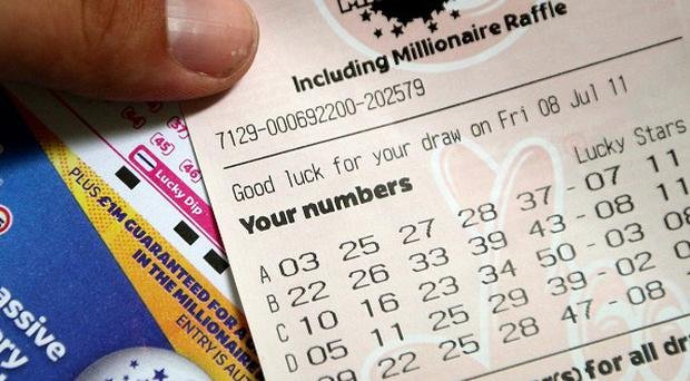 Tuesday's winning ticket - sharing the jackpot with someone in Belgium - was bought in the Dublin region