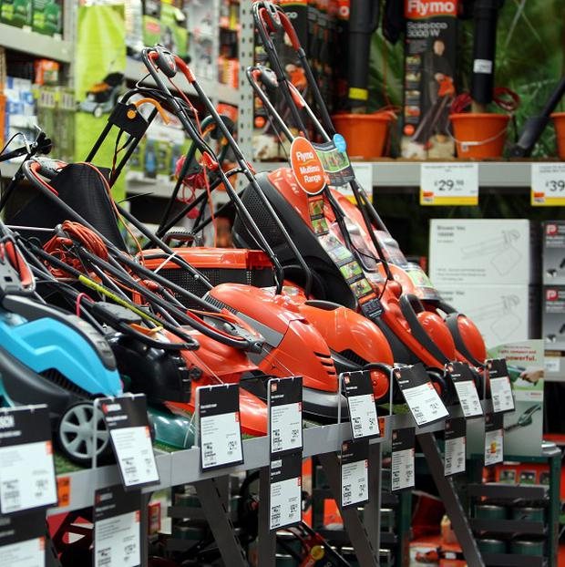 Parents are being warned to keep their children away from lawnmowers
