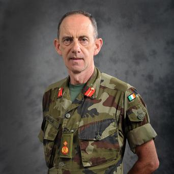The newly appointed Chief of Staff of the Defence Forces Major General Conor O'Boyle
