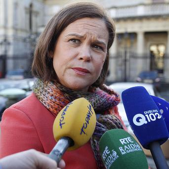 Sinn Fein's Mary Lou McDonald raised concerns over the refusal of the congregations to make any financial contribution to the redress fund