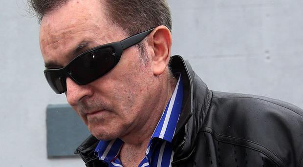 Irish property tycoon Kevin McGeever, 68, who vanished for eight months, at Strokestown District Court, Co Roscommon