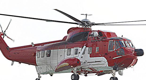 The two Irish Coast Guard rescue helicopters based at Shannon and Waterford were scrambled to help a tall ship