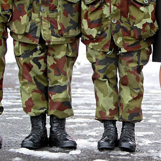 A probe has been launched following the death of a soldier at McKee Barracks