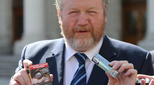 Health Minister James Reilly wants a tobacco-free Ireland by 2025