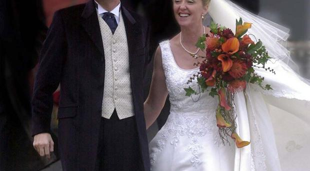 Daniel O'Donnell and his wife Majella married in 2002