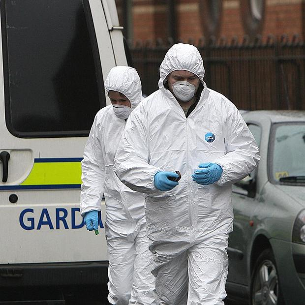 Gardai at Coolock have preserved the scene for a forensic and technical examination