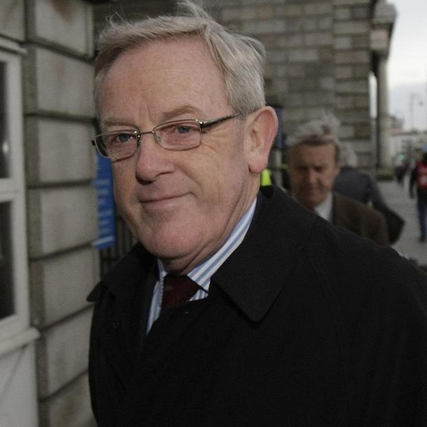 Ex-Government Press Secretary Frank Dunlop, who made corrupt payments to city councillors in a cash for votes scandal