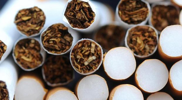 More than 20,000 cigarettes concealed in a car have been seized by Customs officer