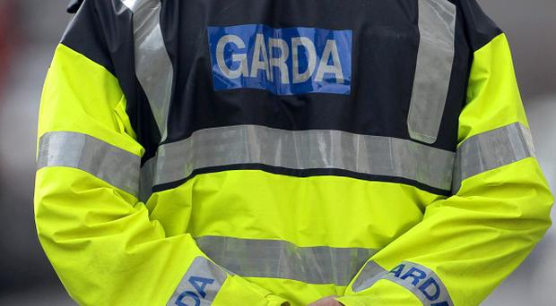 Garda officers arrested four men after an attempted robbery at a businessman's home