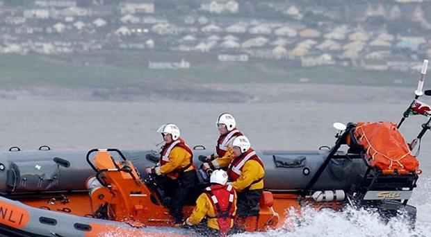 Eight children were rescued at sea after weather suddenly turned treacherous in Sligo