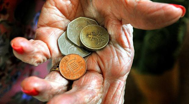 Figures from the Central Statistics Office show just under 10 per cent of the over 65s were living on the breadline in 2011