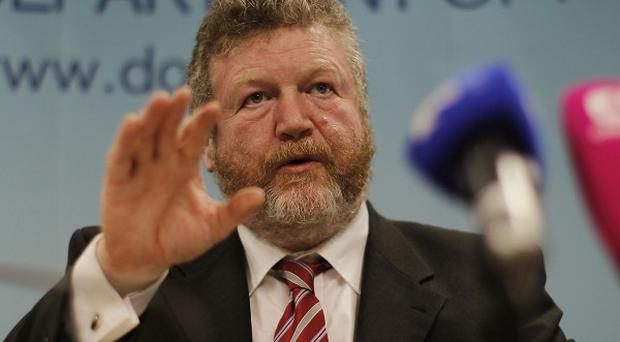 Health Minister James Reilly signed off on organ donation laws