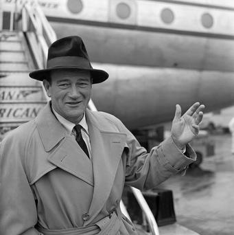 John Wayne starred in the 1952 film The Quiet Man