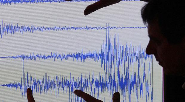Two earthquakes have caused tremors on land nearby