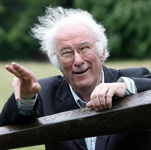 Poet and playwright Seamus Heaney