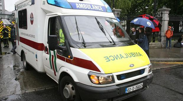 A toddler has died after falling from an apartment block in north Dublin, gardai said